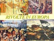 Le rivolte in Europa(1358-1420)