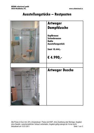Artweger Dusche - Krenn