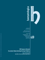 hhaem atologica - Haematologica - Supplements