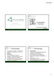 Contracepção Hormonal Farmacologia Farmacologia - Grupo Ideal