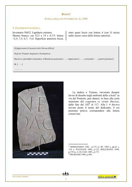 Disiecta membra - Soprintendenza archeologica di Roma ...