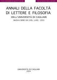 Scarica in PDF - Facoltà di Lettere e Filosofia