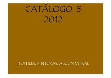 Quinto Catálogo 2012 - marcela corvalan correa