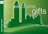 ELECTRONIC GIFTS - bei der Art Surprise Gmbh
