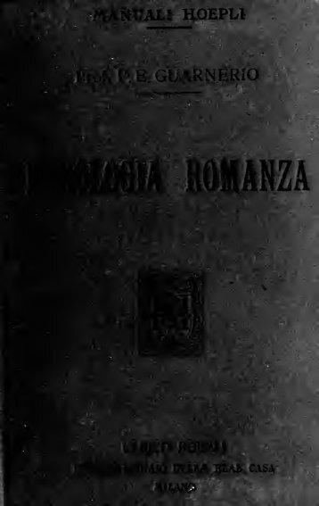 Fonologia Romanza