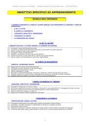 Obiettivi specifici di apprendimento.pdf - Istituto Comprensivo ...
