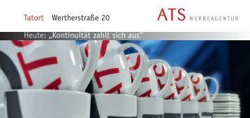 """""""Kontinuität zahlt sich aus"""" Tatort Wertherstraße 20 - ATS ..."""
