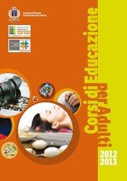 Programma corsi di educazione agli adulti - Comune di Montale