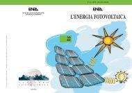 l'energia fotovoltaica - Atlante italiano della radiazione solare - Enea