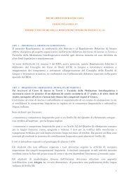 Corso di laurea triennale TTMI - Lingue e Letterature Straniere