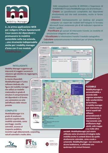 MobilityArea - Traffic Forecast & Management