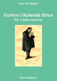 Carlo De Matteo Contro l'azienda etica - ReservedArea - Basic.NET