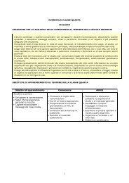 Classe IV - istituto comprensivo alfano-quasimodo