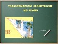 Trasformazioni geometriche nel piano 1
