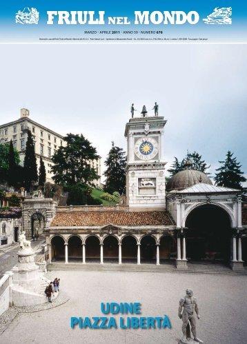 UDINE PIAZZA LIBERTà - Ente Friuli nel Mondo