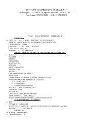 Pof d'Istituto - Comprensivo5sp.gov.it