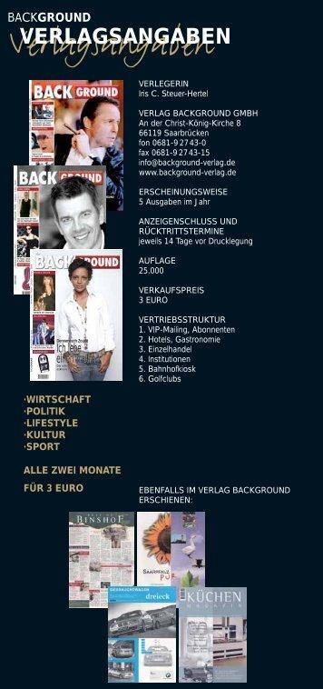 Verlagsangaben - background-verlag.de