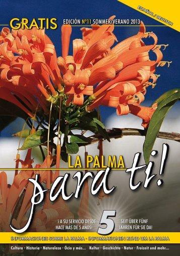La Palma para ti! Nº11