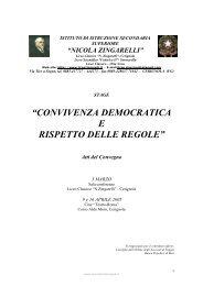 Atti del convegno - N. Zingarelli