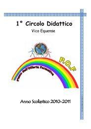 Anno Scolastico 2010 Anno Scolastico 2010-2011 - Primo Circolo ...