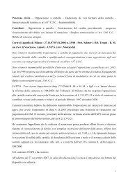 Deduzione di vizi formali della cartella - Inps