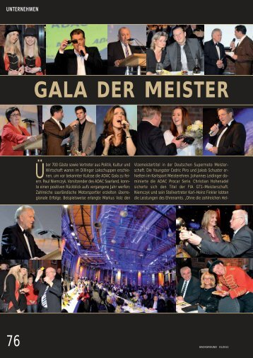 GALA DER MEISTER - background-verlag.de