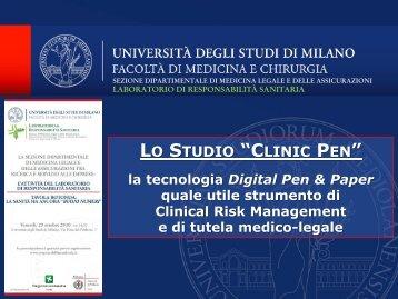 Lo studio Clinic Pen - Responsabilitasanitaria.it