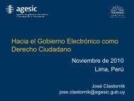 Hacia el Gobierno Electrónico como Derecho Ciudadano