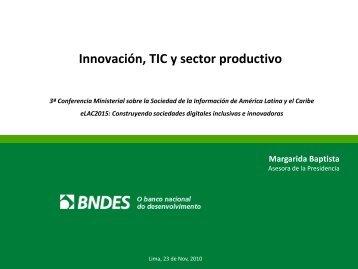 Innovación, TIC y sector productivo