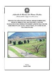Scarica il documento in formato PDF - Autorità di Bacino del fiume ...