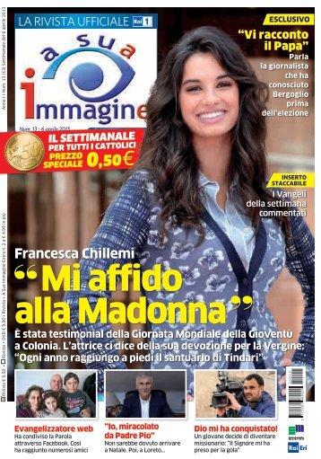 Mi affido alla Madonna - A Sua Immagine