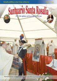 Rivista n. 23 – Settembre 2012 - Santuario di Santa Rosalia