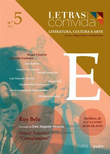 Revista Letras ComVida, Número 5 - 2012 - LusoSofia