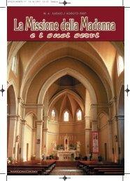 LUGLIO/AGOSTO 07 14-06-2007 15:20 Pagina 1 - la missione della ...