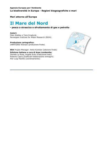 Il Mare del Nord - ARPA Lombardia