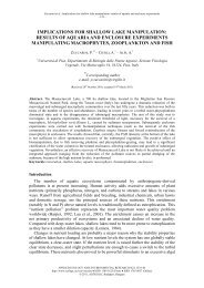 619 - Zuccarini - Implications - Applied Ecology and Environmental ...