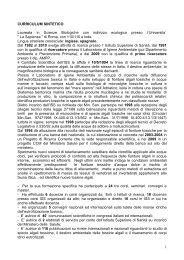 CV Milena Bruno - Istituto Superiore di Sanità