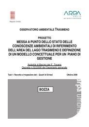 Quadri di sintesi - ARPA Umbria