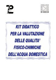 Manuale Kit Acqua agosto 2012-1 - ZooPlantLab