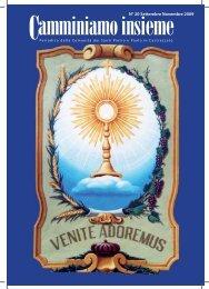 N° 20 Settembre Novembre 2009 - Oratorio Castrezzato