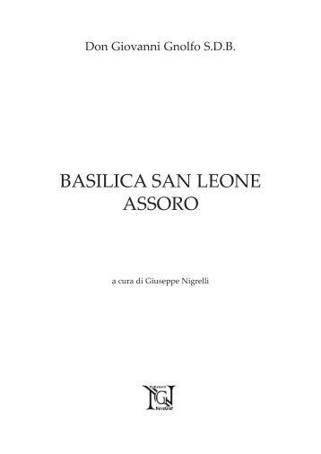 Testo letterario sulla Basilica a cura di G. Nigrelli - Parrocchia San ...