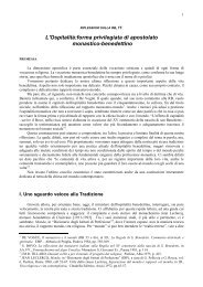 Riflessioni sull'ospitalità - Monastero Benedettino Santa Maria del ...