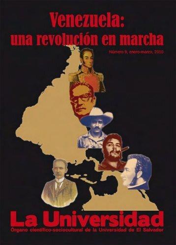 Carta del director - Universidad de El Salvador