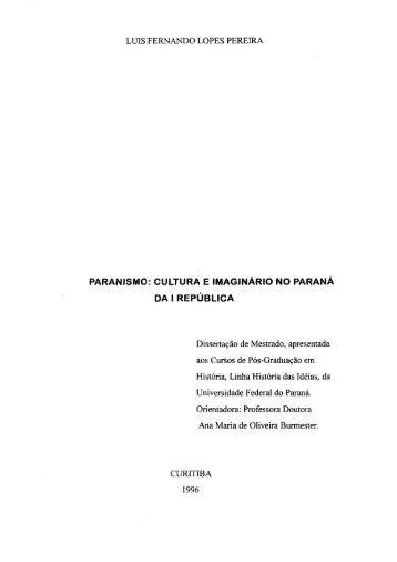D - PEREIRA, LUIS FERNANDO LOPES.pdf - Universidade Federal ...