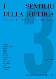 Sentieri della ricerca.indb - Centro di Documentazione Del Boca ...