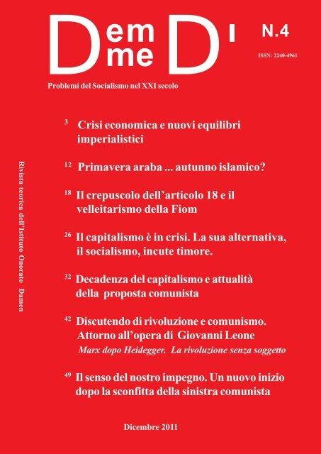 Il N°4 in PDF - Istituto Onorato Damen