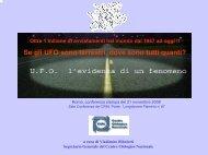 Nessun titolo diapositiva - Centro Ufologico Nazionale