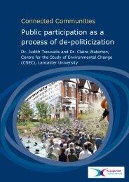 Public participation as a process of de-politicization - Arts ...