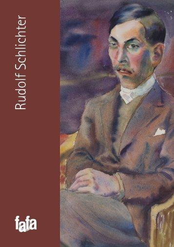 Rudolf Schlichter - fafa - Fine Art Gallery