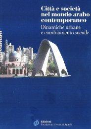Città e società nel mondo arabo contemporaneo - Fondazione ...